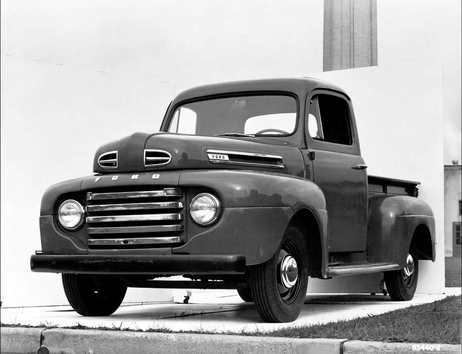 FILE- In this undated file photo provided by Ford the 1948 Ford F-1 Pickup is pictured. The automaker first introduced the F-1 in 1948 as a work vehicle for farmers. Photo: Anonymous, AP / AP