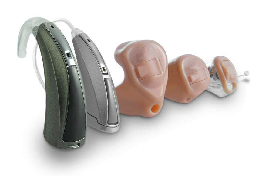 TREATING HEARING LOSS -- There are a variety of styles available in hearing aids, depending on the user's needs and expectations.   Creators.com photo courtesy of the Starkey Hearing Foundation   Senior2013-08 SENIOR LIFE 2013   Creators.com