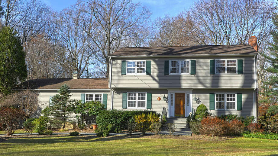 The house at 27 Salem Road is on the market for  $1,325,000. Photo: Contributed Photo / Westport News contributed