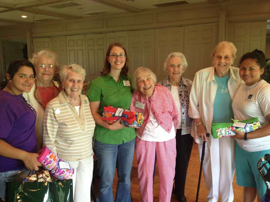 Quilters from Parkway Place took a trip to Boys & Girls Country.