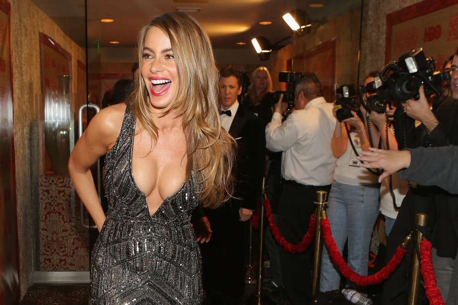 Actress Sofia Vergara attends HBO's Post 2014 Golden Globe Awards Party held at Circa 55 Restaurant on January 12, 2014 in Los Angeles, California. Photo: Mike Windle, Getty Images