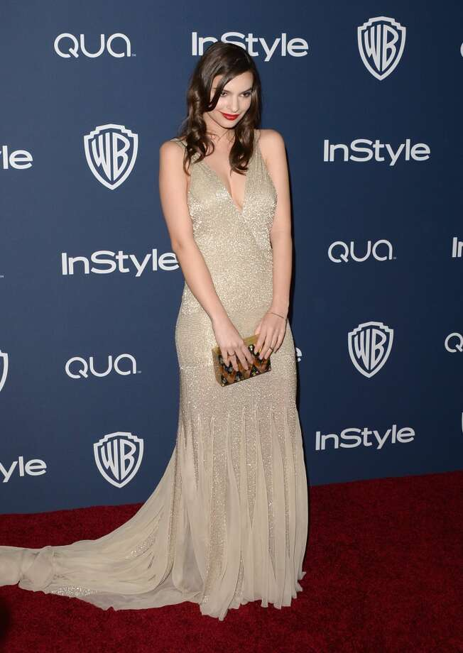 Actress Emily Ratajkowski attends the 2014 InStyle and Warner Bros. 71st Annual Golden Globe Awards Post-Party on January 12, 2014 in Beverly Hills, California. Photo: Jason Merritt, Getty Images