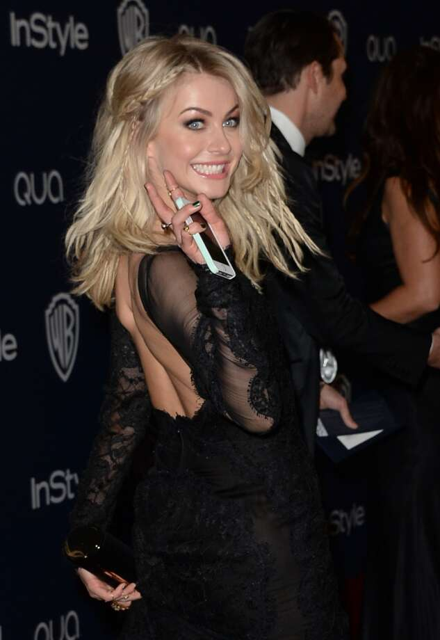 Actress Julianne Hough attends the 2014 InStyle and Warner Bros. 71st Annual Golden Globe Awards Post-Party on January 12, 2014 in Beverly Hills, California. Photo: Jason Merritt, Getty Images