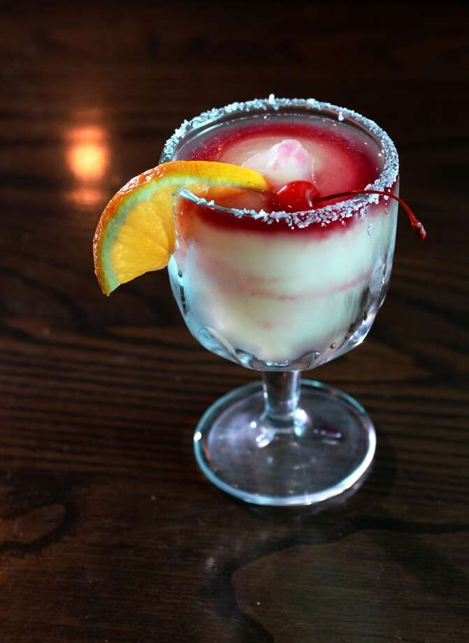 Pictured is the Sangria Rita at Rancho Grande in Port Arthur. Rancho Grande is the CAT5 Restaurant of the Week for January 9, 2014. Photo taken Thursday, 1/2/14 Jake Daniels/@JakeD_in_SETX