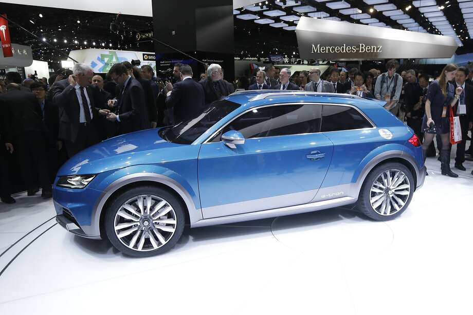 The Audi all road shooting brake is unveiled at the North American International Auto Show in Detroit, Monday, Jan. 13, 2014. Photo: Carlos Osorio, Associated Press