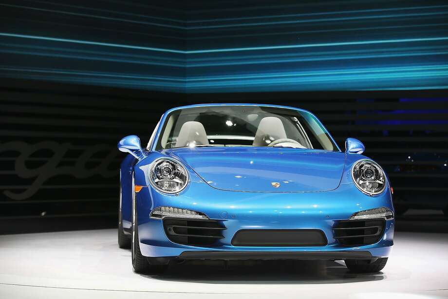 Porsche introduces the new 911 Targa at the North American International Auto Show on January 13, 2014 in Detroit, Michigan. The auto show opens to the public January 18-26. Photo: Scott Olson, Getty Images