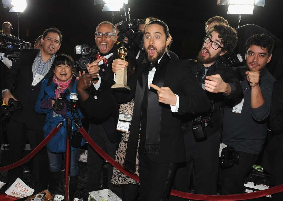 Jared Leto attends the Universal, NBC, Focus Features, E! sponsored by Chrysler viewing and after party at The Beverly Hilton Hotel on January 12, 2014 in Beverly Hills, California. Photo: Angela Weiss, Getty Images For NBCUniversal