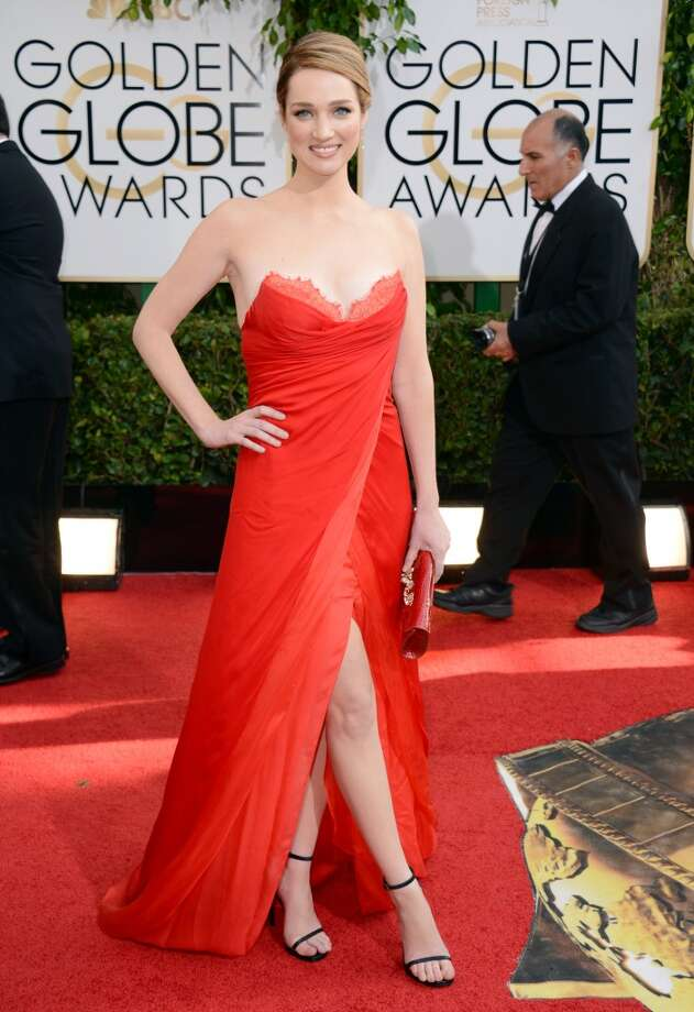 Red. Kristen Connolly (of House of Cards) in Nicholas Oakwell. Photo: Jordan Strauss, Associated Press