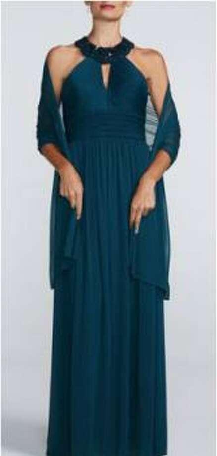 David's Bridal version of Amy Poehler dress.