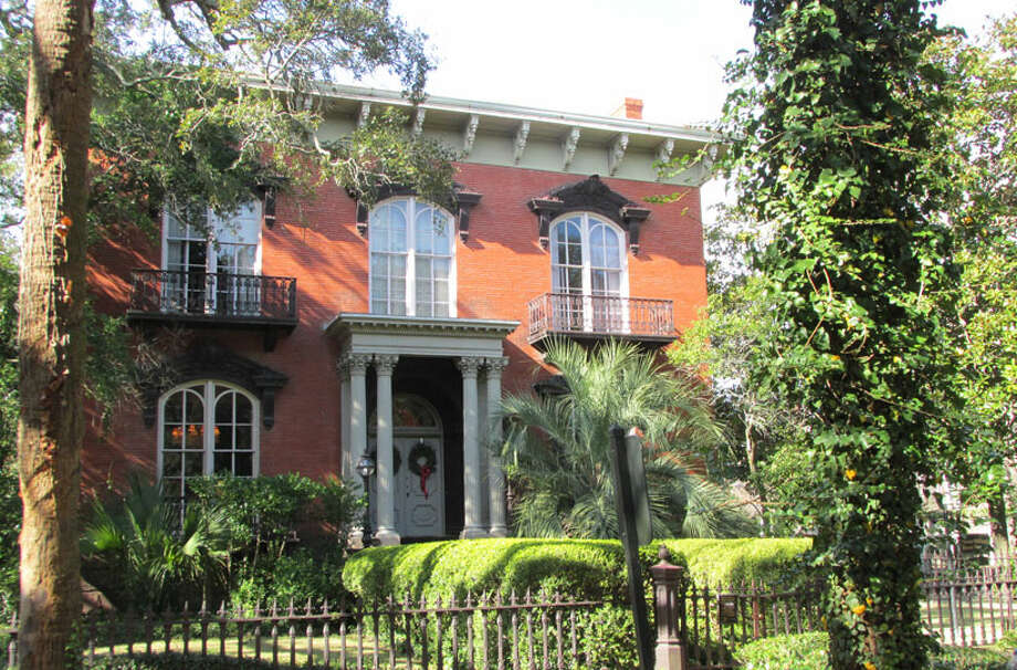 """The Mercer-Williams House belonged to Jim Williams, who is credited for restoring 50 historic homes in the area. Williams and the homicide that occurred in the house is also the inspiration for the book, """"Midnight in the Garden of Good and Evil."""" Photo: Sarah Diodato"""