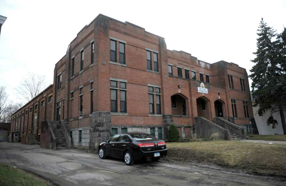 The old Danbury Armory on West Street in Danbury, Conn. is presently home to the Bill S. Curtis Harmambee Youth Center. Photo: Carol Kaliff / The News-Times
