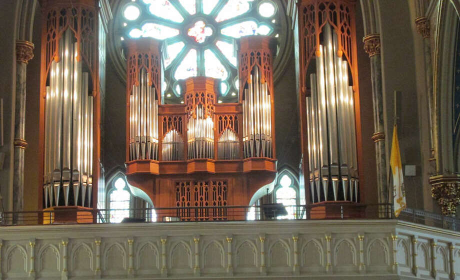 Pipe organ inside the Cathedral of St. John the Baptist Photo: Sarah Diodato