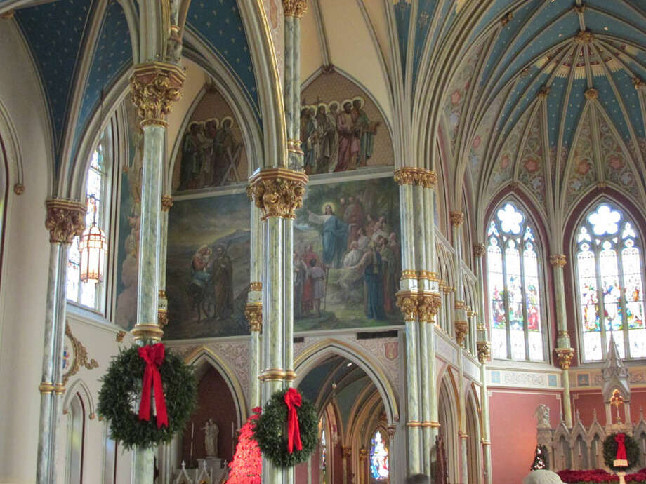 Inside the Cathedral of St. John the Baptist. Photo: Sarah Diodato