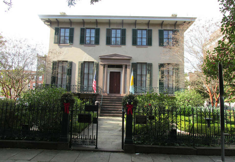 The Andrew Low House was the home of Juliet Gordon Low, the founder of the Girl Scouts. Her childhood home is also located in Savannah. Learn more. Photo: Sarah Diodato