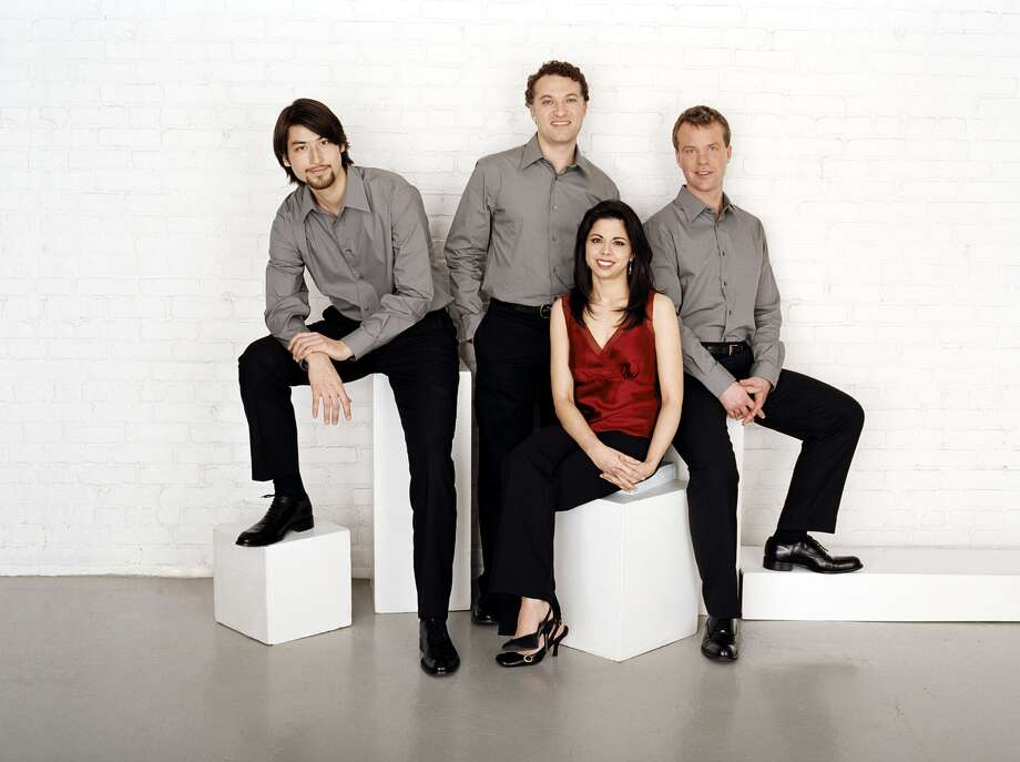 The Pacifica Quartet, which will appear in Houston Jan. 16, presented by Houston Friends of Chamber Music. Photo: Saverio Truglia / ONLINE_YES