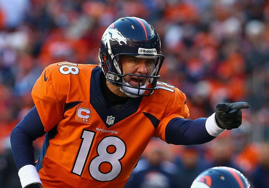 Peyton Manning Photo: Doug Pensinger, Getty Images
