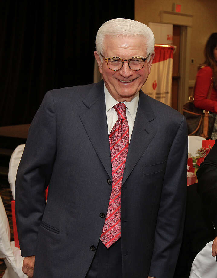 (Photo by Joe Putrock/Special to the Times Union) - Executive Chairman of the Board of Golub Corporation/Price Chopper Neil Golub, left, during the American Heart Association's Go Red for Women Luncheon. Photo: Joe Putrock