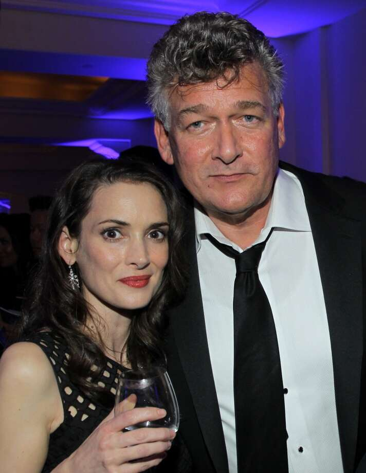 Winona Ryder and Joseph Vitarelli attend the 3rd annual Sean Penn & Friends HELP HAITI HOME Gala benefiting J/P HRO presented by Giorgio Armani at Montage Beverly Hills on January 11, 2014 in Beverly Hills, California. Photo: Jonathan Leibson, Getty Images For J/P Haitian Relief Organization