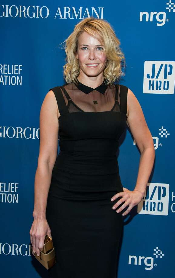 Chelsea Handler arrives at the 3nd Annual Sean Penn & Friends HELP HAITI HOME Gala Benefiting J/P HRO Presented By Giorgio Armani at Montage Hotel on January 11, 2014 in Los Angeles, California. Photo: Valerie Macon, Getty Images