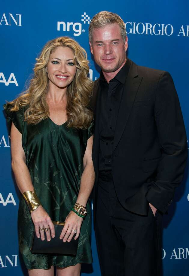 Rebecca Gayheart and Eric Dane  arrive at the 3nd Annual Sean Penn & Friends HELP HAITI HOME Gala Benefiting J/P HRO Presented By Giorgio Armani at Montage Hotel on January 11, 2014 in Los Angeles, California. Photo: Valerie Macon, Getty Images