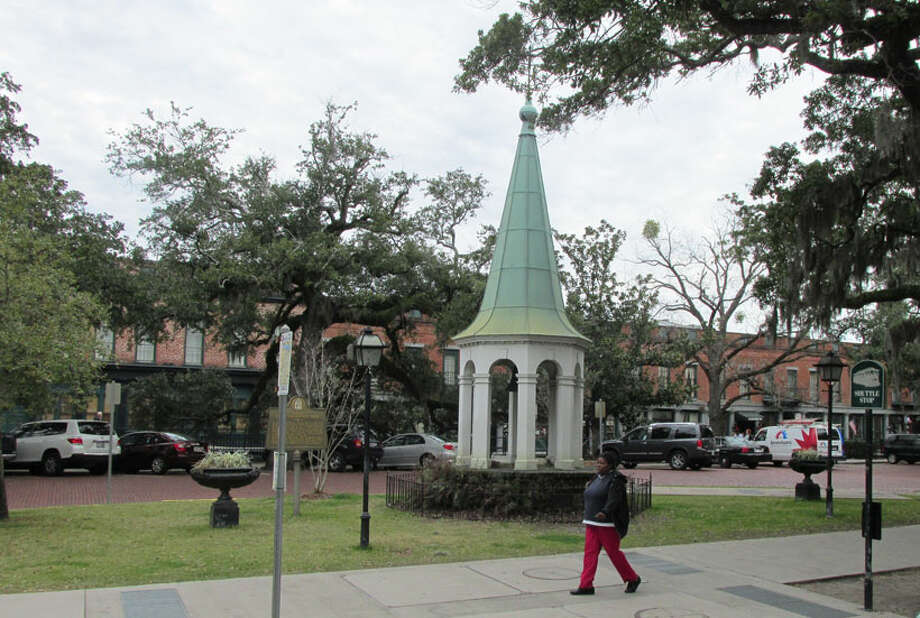 The City Exchange Bell in Savannah, dated 1802. Learn more. Photo: Sarah Diodato
