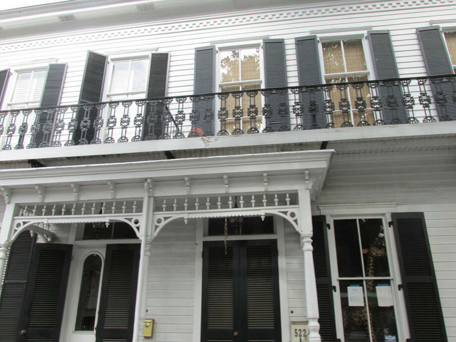 More homes adorned with wrought iron in Savannah. Photo: Sarah Diodato