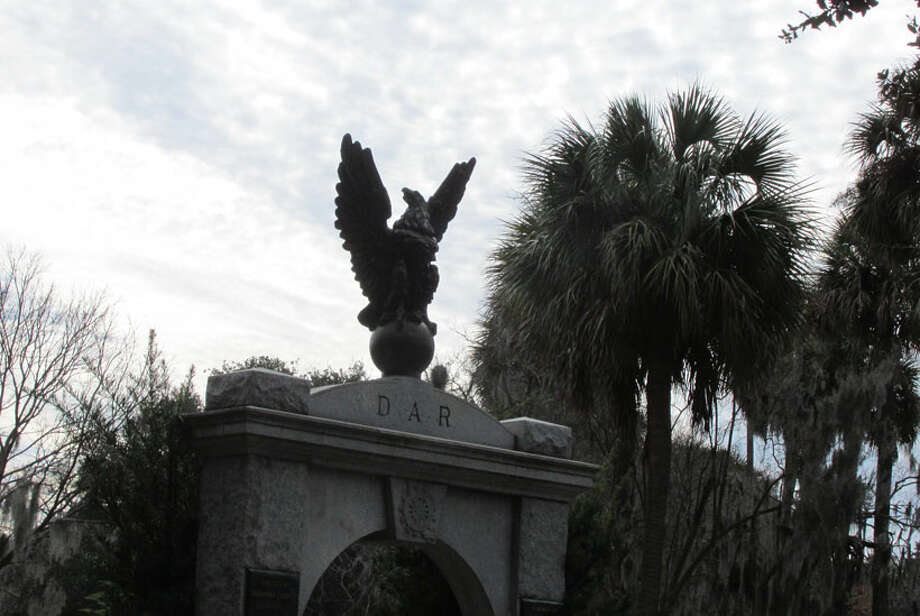 View of Colonial Park Cemetery in Savannah. Established in 1750, this is where many of Savannah's earliest residents are buried. While no Confederate soldiers are buried there, it was looted by Union soldiers, with headstones removed and dates changed.Learn more. Photo: Sarah Diodato