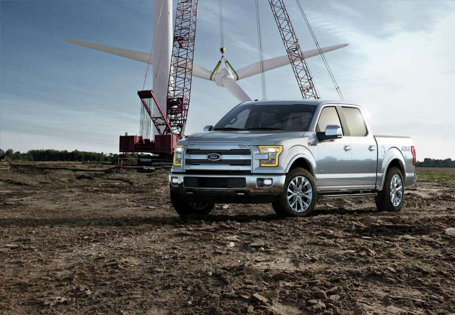 With a body of aluminum rather than steel, the 2015 Ford F-150 will be lighter than past models so fuel economy will be better. Photo: Ford Motor Co. / Copyright:Shooterz LLC