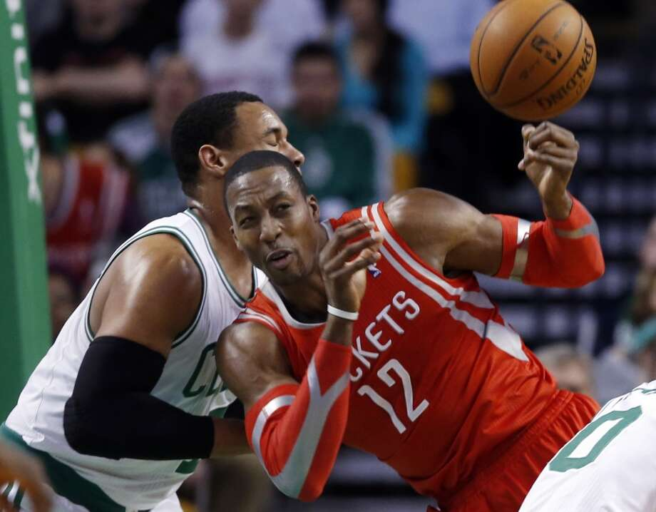 Jan. 13: Rockets 104, Celtics 92  Dwight Howard scored 32 points and had 11 rebounds in the win versus Boston. Photo: Elise Amendola, Associated Press