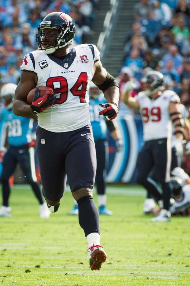 Best veteran free agent: Antonio Smith, DE, 2009 Signed away from Arizona, he started for five years and became a fixture and leader on the defensive line. Photo: Smiley N. Pool, Houston Chronicle
