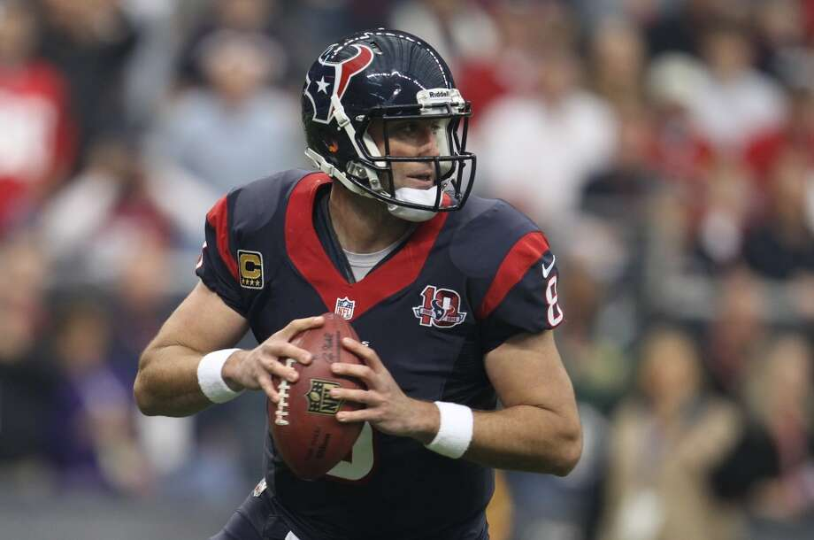 Best trade: Matt Schaub, QB, 2007  Helped the team compile three winning records and two AFC South titles before cratering in 2013. Photo: Karen Warren, Houston Chronicle