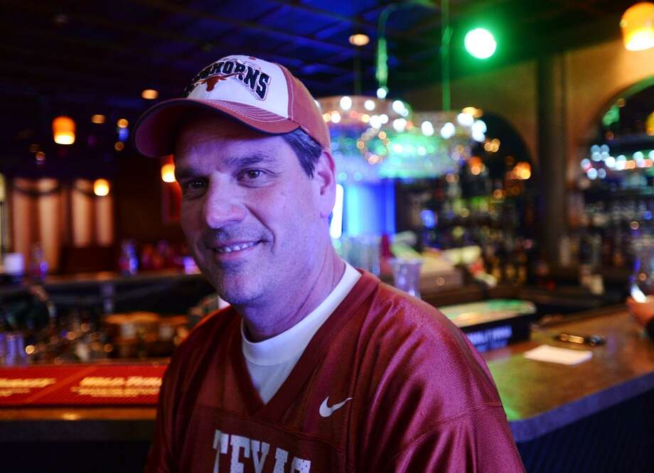 Henry Hebert, owner of the Pacesetter Lounge, poses for a picture at the bar Monday night. Pacesetter Lounge on Phelan Boulevard is the CAT5 Bar of the Week for January 9, 2014. The lounge shut down last October but reopened just a few weeks later. Photo taken Monday, 12/30/13 Jake Daniels/@JakeD_in_SETX