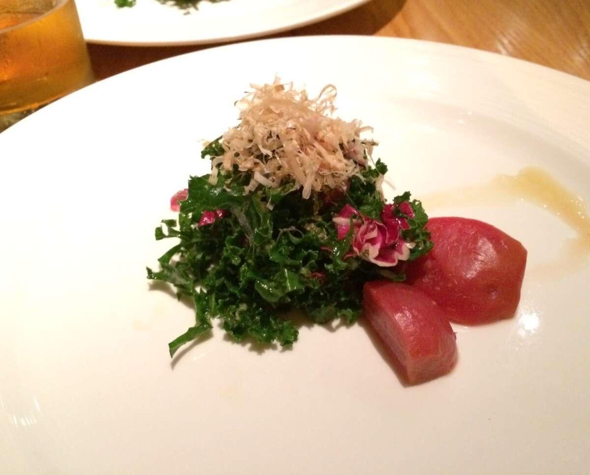 Kale salad at Ozumo