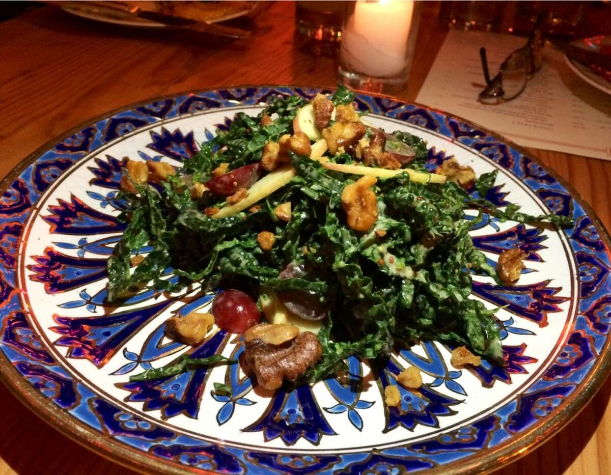 Kale salad at Penrose in Oakland
