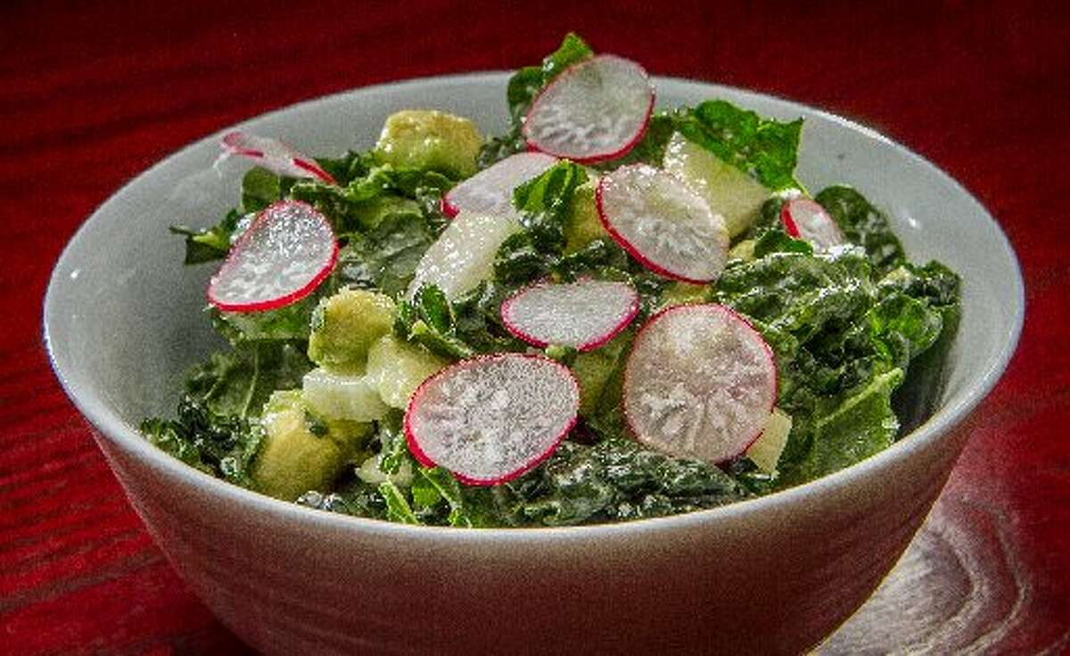 A version of the Hutong kale salad made the transition back to Betelnut