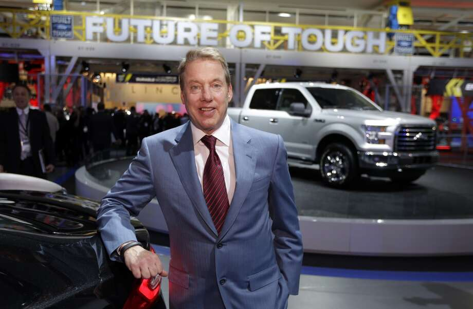 Ford Motor Co., Executive Chairman Bill Ford is photographed at the automaker's display area at the North American International Auto Show in Detroit, Monday, Jan. 13, 2014. Photo: Carlos Osorio, ASSOCIATED PRESS