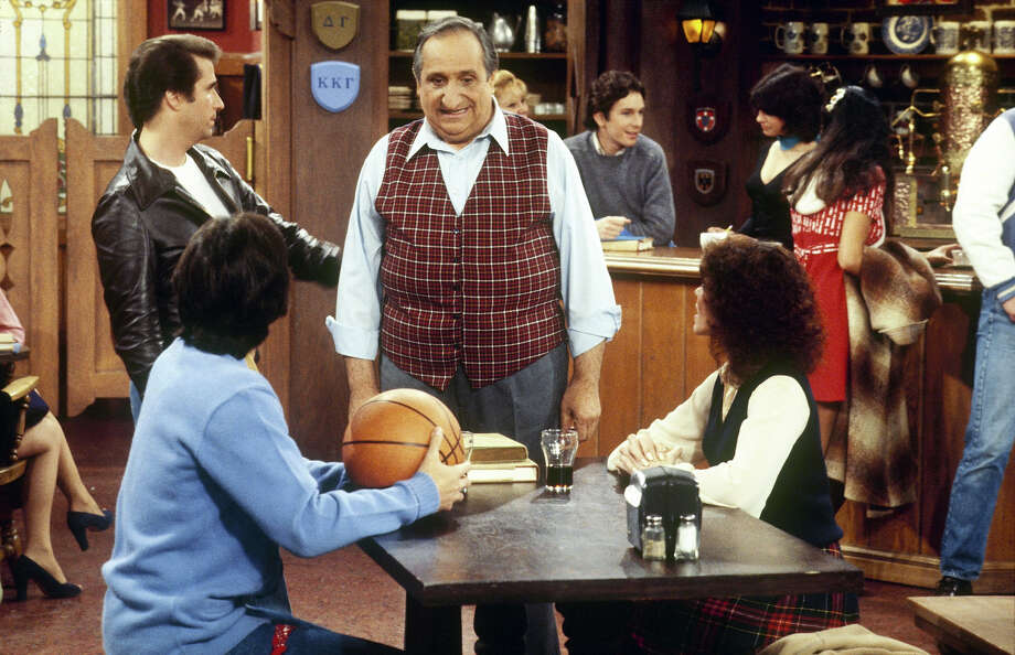 Al Molinaro as  Al Delvecchio, took over Arnold's after Morita left the series. Molinaro, born in 1919, is still around, having made regular radio appearances as late as 2008. Photo: ABC Photo Archives, ABC Via Getty Images / 2009 American Broadcasting Companies, Inc.