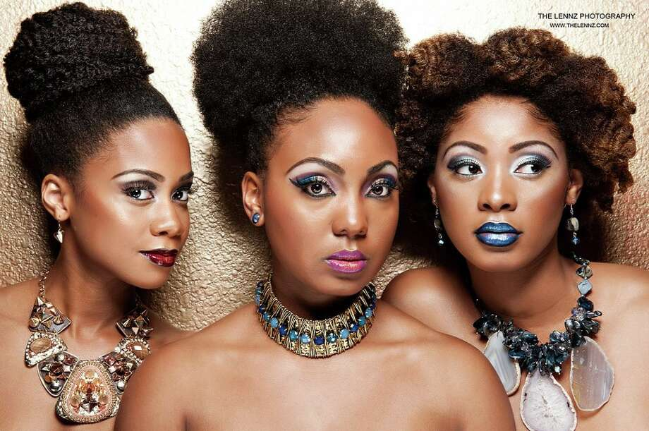 Sibling trio My Natural Sistas offer hair and beauty tips to more than 220,000 subscribers. Photo: The Lennz Photography