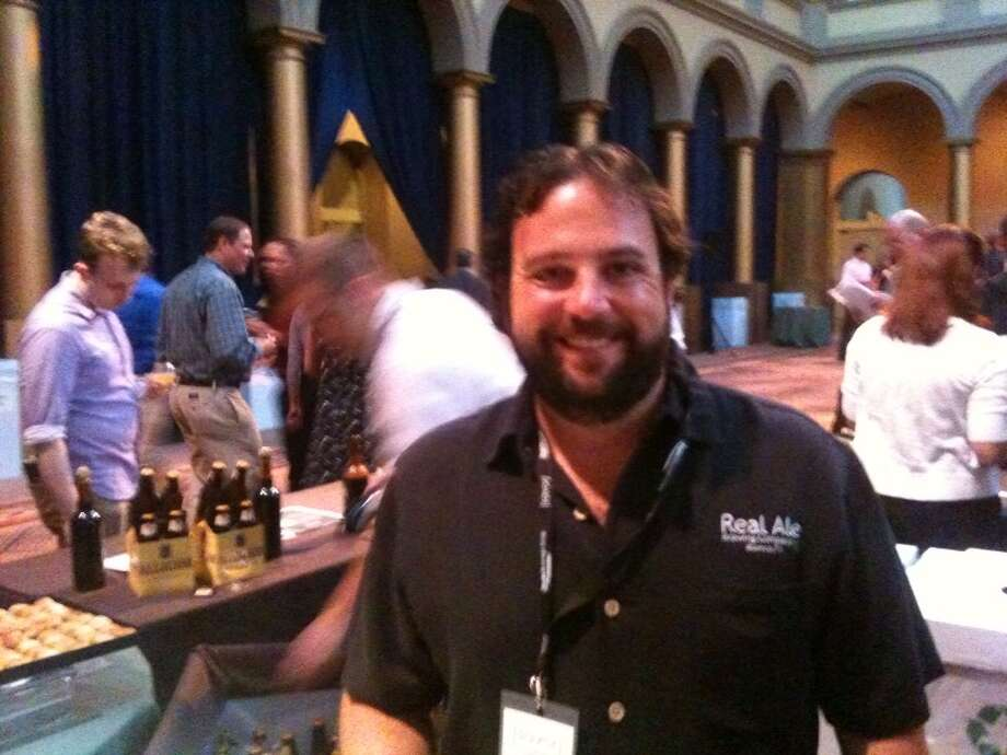Brad Farbstein of Blanco's Real Ale Brewing represented Texas at the first Savor. Photo: Ronnie Crocker, Beer, TX
