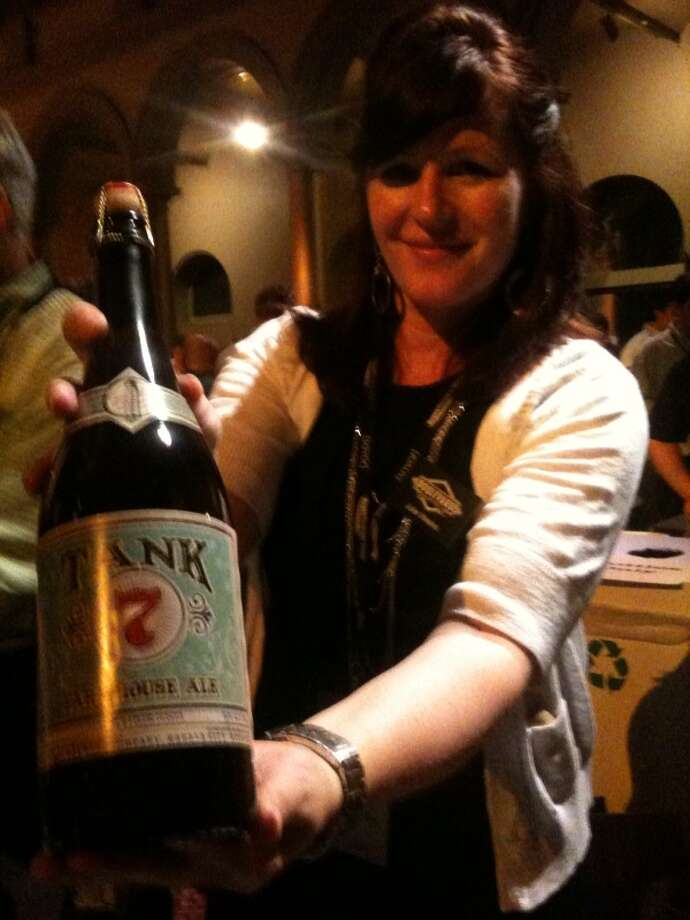 Savor was also where I found myself in the tank for Boulevard's Tank 7. Photo: Ronnie Crocker, Beer, TX