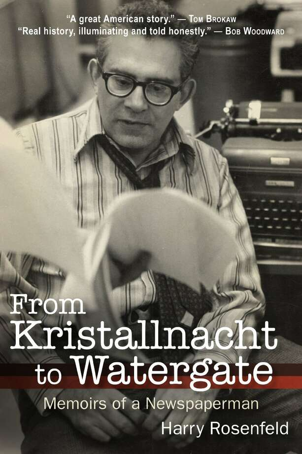 "The cover of ""From Kristallnacht to Watergate: Memoirs of a Newspaperman"" by Harry Rosenfeld, published by SUNY Press on Sept. 15."