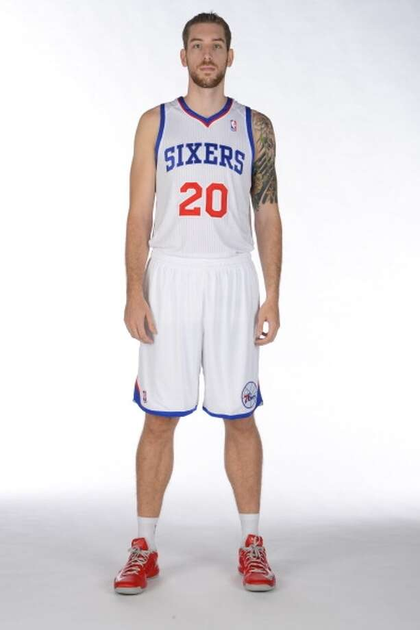 Tim Ohlbrecht  Position: Center  Previous team: Philadelphia 76ers  Height/weight: 6-11, 240 pounds  NBA experience: One year  German-born post player has spent the vast majority of his career in the NBA  Development League. Photo: Jesse D. Garrabrant, Getty Images