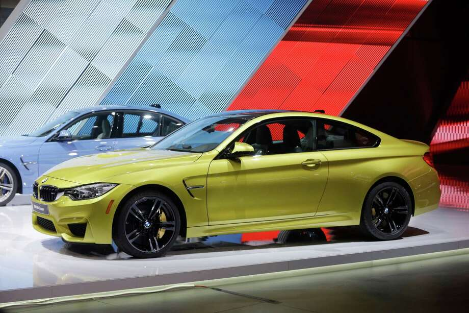 The BMW M4 coupe is unveiled at the North American International Auto Show in Detroit. Photo: Carlos Osorio, AP / AP