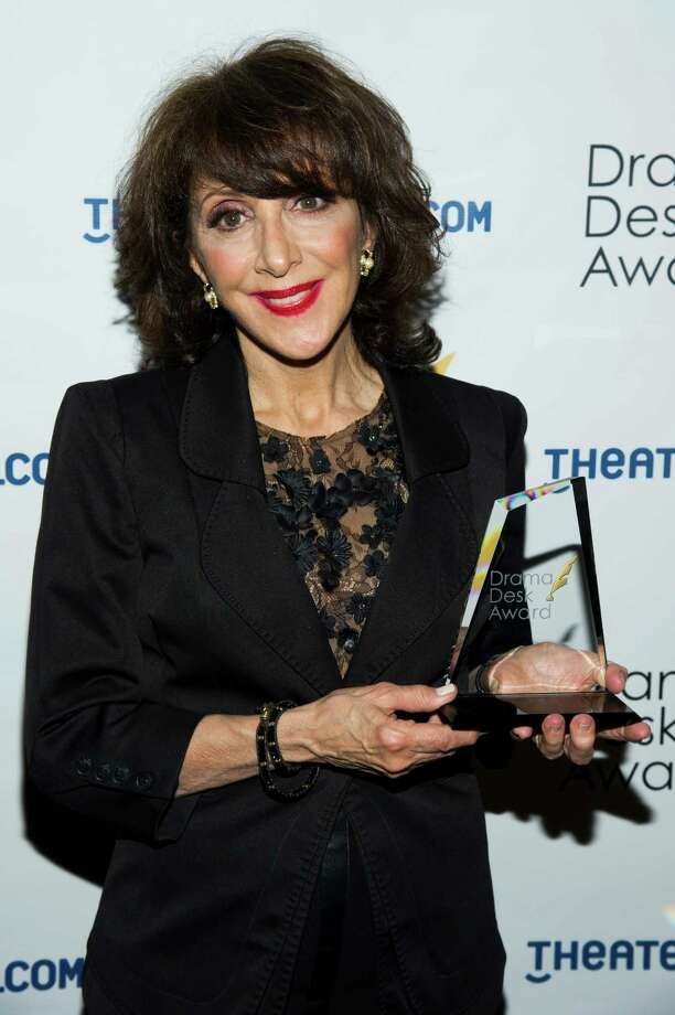 Andrea Martin holds her award for Outstanding Featured Actress in a Musical at the 2013 Drama Desk Awards on Sunday, May 19, 2013 in New York. (Photo by Charles Sykes/Invision/AP) Photo: Charles Sykes / Invision
