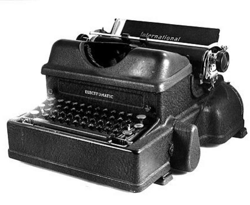 Texas: Electric typewriter Invented by James Field Smathers, 2912Source: MidAmerica Nazarene University