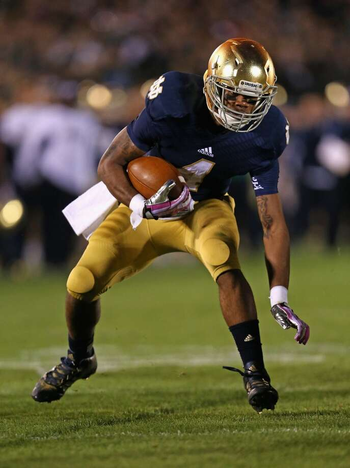 George Atkinson   Position: Running back  School: Notre Dame Photo: Jonathan Daniel, Getty Images