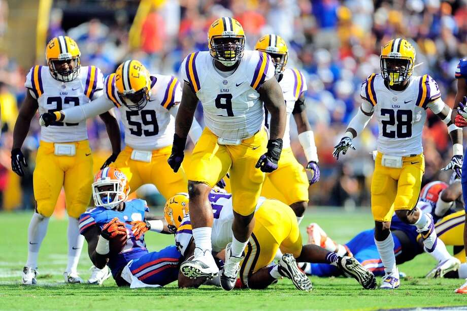 Ego Ferguson  Position: Defensive tackle  School: LSU Photo: Stacy Revere, Getty Images