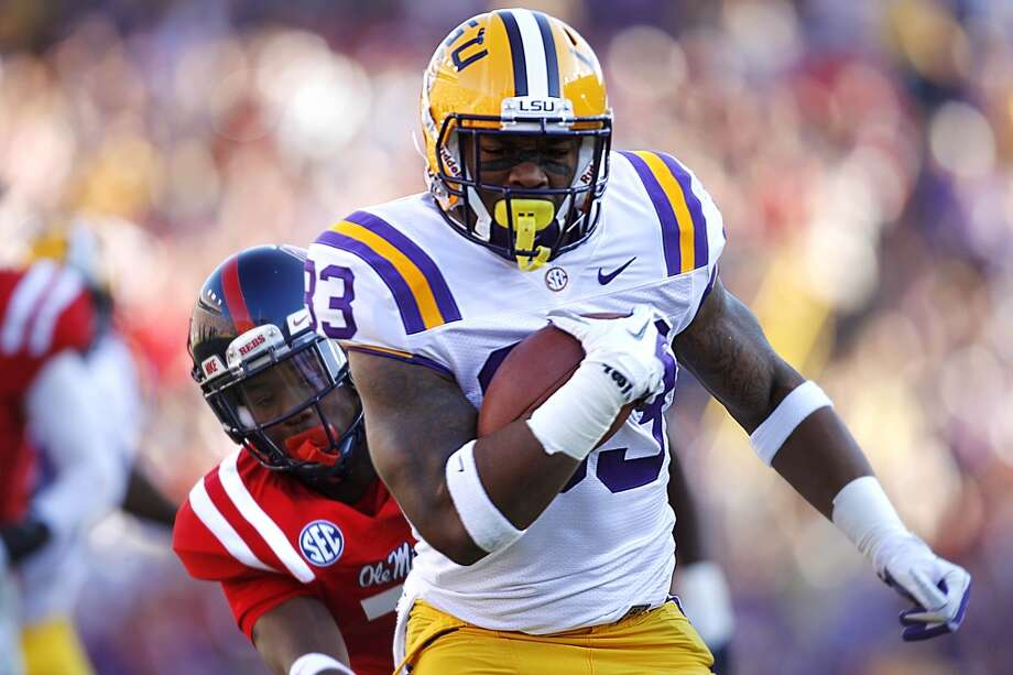 Jeremy Hill  Position: Running back  School: LSU Photo: Gerald Herbert, Associated Press