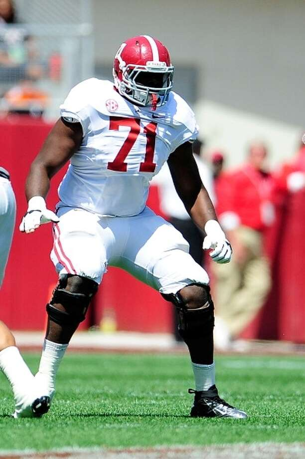 Cyrus Kouandijo  Position: Offensive tackle  School: Alabama Photo: Stacy Revere, Getty Images