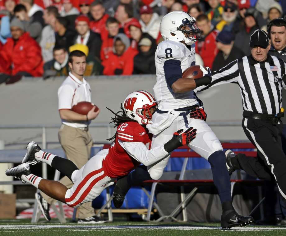 Allen Robinson  Position: Wide receiver  School: Penn State Photo: Morry Gash, Associated Press